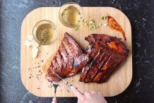 Jasmine Tea Smoked Pork Ribs