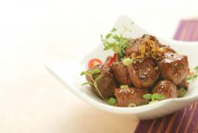 Stir Fried Beef Fillet with Black Pepper