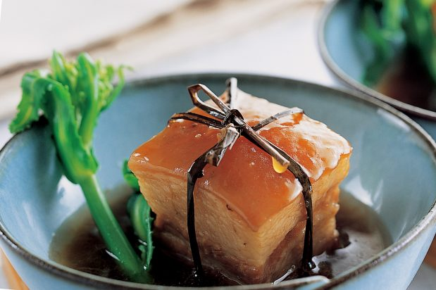 Braised Pork Belly with Oyster Sauce