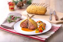 Crunchy Lamb Rack with Aromatic Soy Sauce