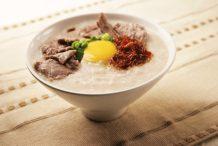 Cantonese Style Beef Congee