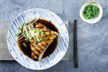 Teriyaki Sword Fish Steak