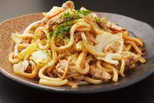 Teriyaki Chicken and Udon Noodles