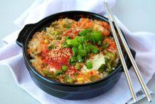 Korean Soybean Sprouts Soup with Rice (Kongnamul-Gukbap)