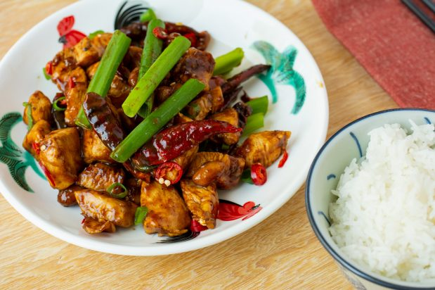 Shortcut Kung Pao Chicken