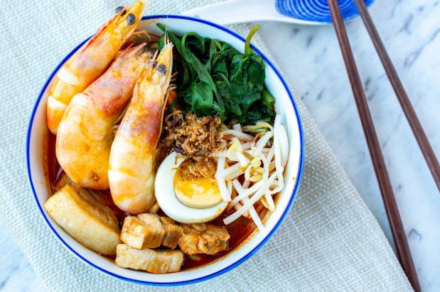 Shortcut Hokkien Prawn Noodles