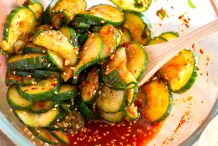 Spicy Cucumber Salad (Oi Muchim)