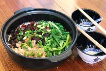 Waxed Meat Claypot Rice (Lap Mei Fan)