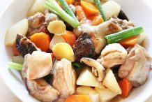 Braised Chicken with Radish