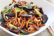 Shanghai Fried Noodles (Cu Chao Mian)