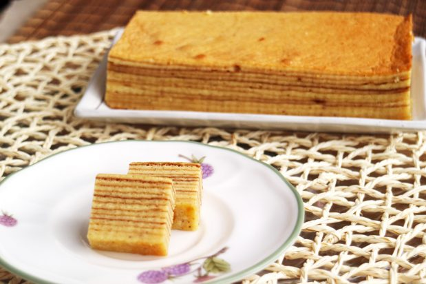 Indonesian Layered Cake (Kek Lapis)