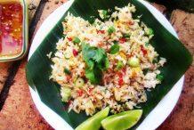 Thai Crab Fried Rice (Kao Pad Bpu)