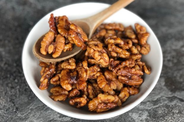 Chinese Candied Walnuts