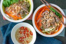 Vietnamese Beef Noodle Salad (Bun Bo Nam Bo)