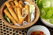 South Vietnamese Spring Rolls (Cha Gio)