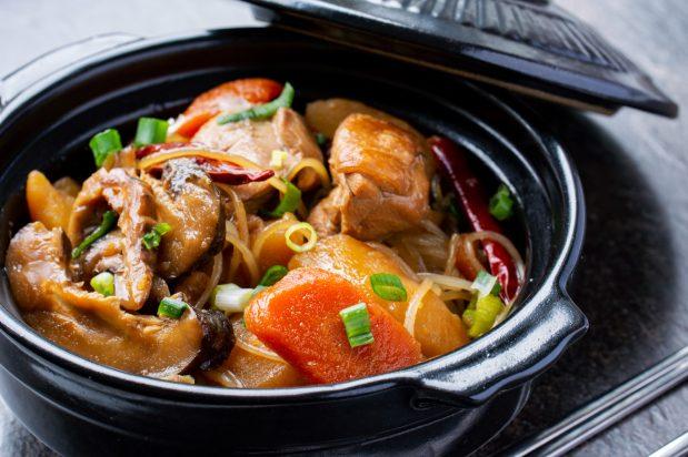 Braised Chicken with Vegetables (Dakjjim)