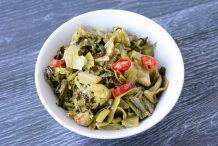 Stir Fried Salted Vegetables (Kiam Chye)