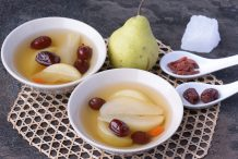Pear and Red Dates Dessert Soup