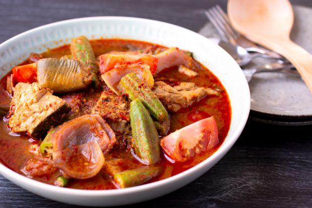 Stingray Curry (Stingray Assam Pedas)