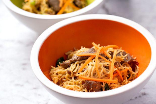 Stir Fried Vietnamese Egg Noodles (Mi Xao Bo)