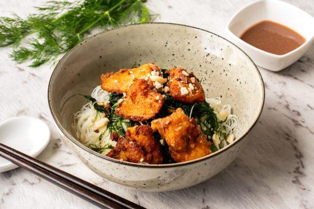 Hanoi Turmeric Fish with Dill (Cha Ca Hanoi)