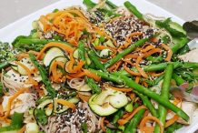Veggieful Soba Noodle Salad