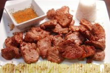 Thai Grilled Pork with Thai Isaan Style Dipping Sauce