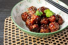 Meatballs in Sticky Hoisin Sauce