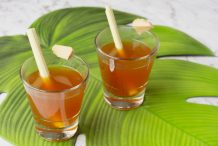 Indonesian Ginger Pandan Tea