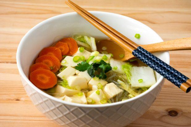 Vegetarian Thai Tofu Soup (Kaeng Jued Taohu)
