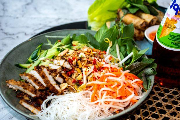 Vietnamese Grilled Pork Noodles (Bun Thit Nuong)