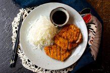 Japanese Crispy Pork Cutlet (Tonkatsu)