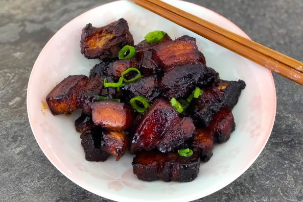 Shanghai-Style Braised Pork Belly (Hong Shao Rou)