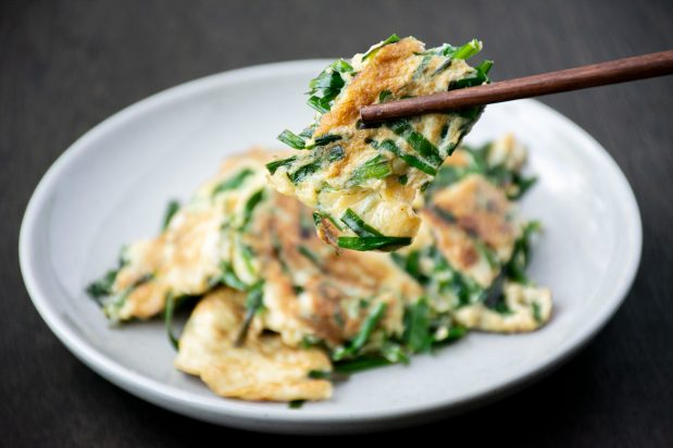 Chinese Chives Omelette