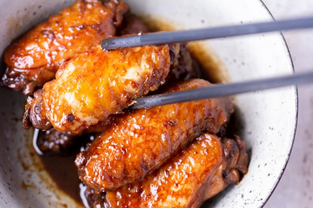 Chinese Honey Soy Chicken Wings