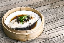 Chinese Steamed Fish Fillet with Soy Sauce