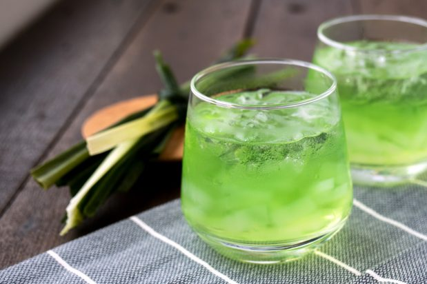 Pandan Juice with Jelly