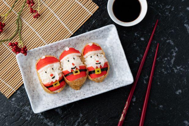 Santa Claus Sushi