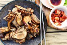 Korean Pork Trotters (Jokbal)