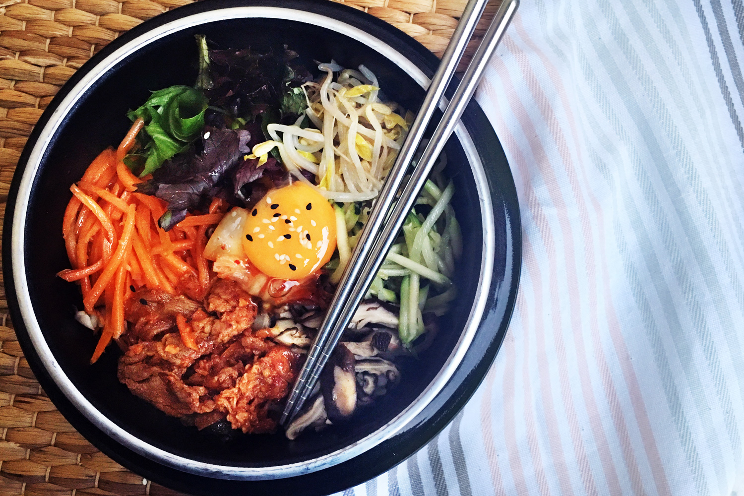 Korean Pork Bibimbap Asian Inspirations