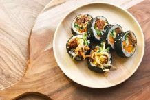 Korean Sushi Roll (Kimbap)
