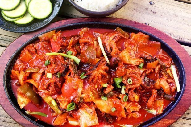 Korean Spicy Baby Octopus