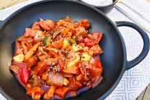 Korean Spicy Chicken (Buldak)