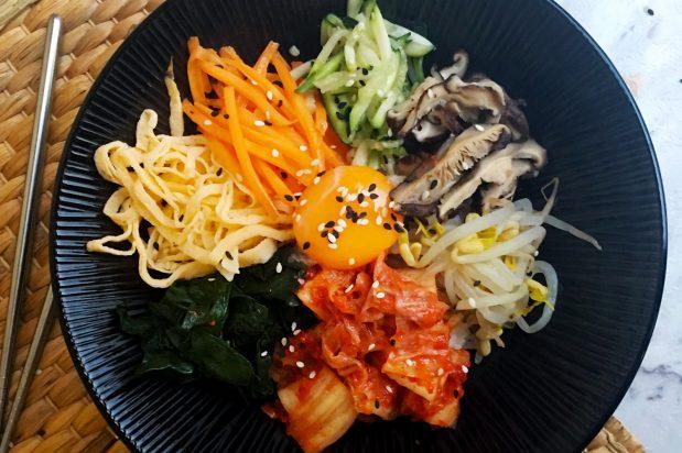 Korean Vegetarian Bibimbap