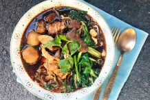 Thai Braised Pork Noodle Soup