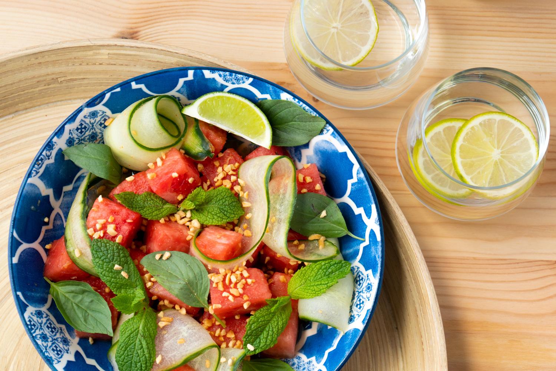 Thai Watermelon Salad  Asian Inspirations-4686