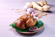 Roast Chicken in Soybean Sauce