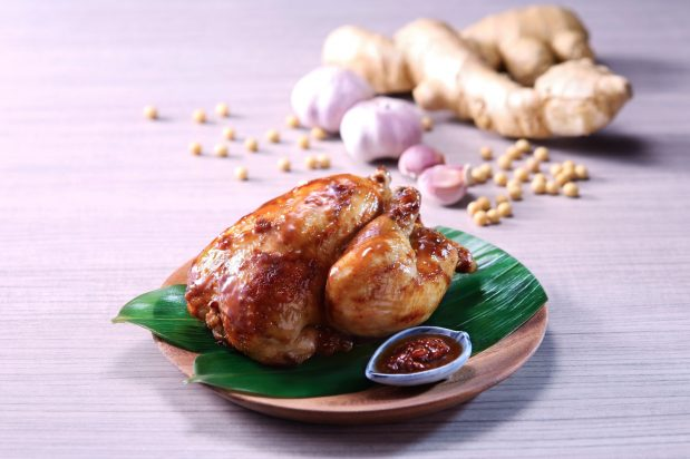 Roast Chicken in Soybean Sauce