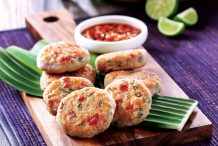 Thai Style Pan Fried Fish Patties