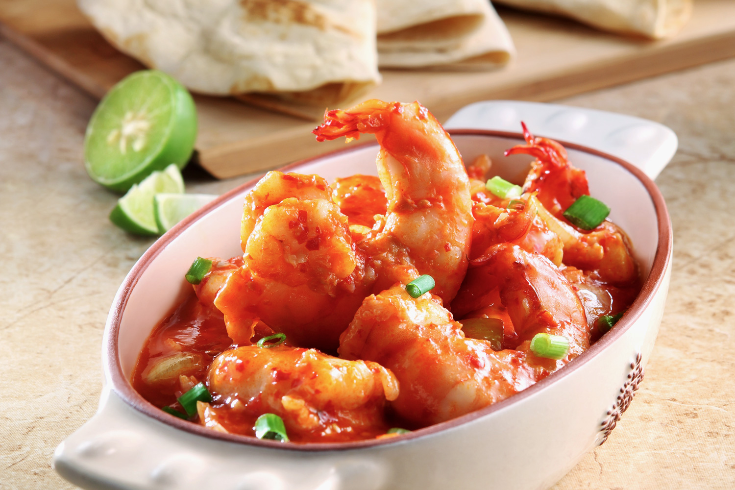 how to cook prawns in garlic butter